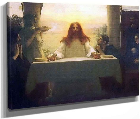 The Last Supper 1 By Pascal Dagnan Bouveret