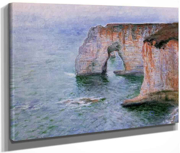 The Manneport Seen From The East By Claude Oscar Monet