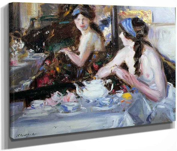 The Mirror By Francis Campbell Bolleau Cadell By Francis Campbell Bolleau Cadell