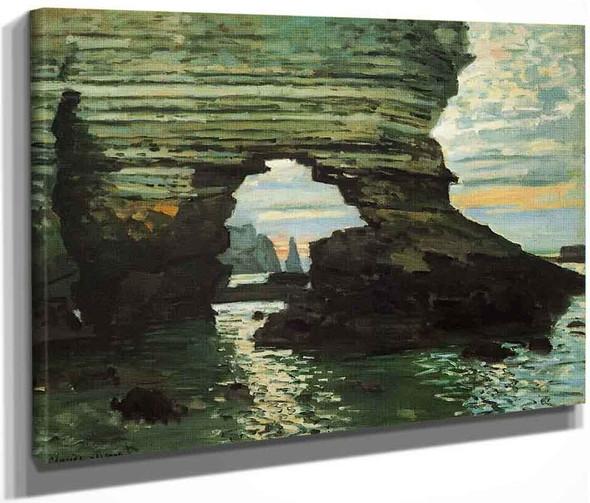 The Porte D'amont, Etretat By Claude Oscar Monet