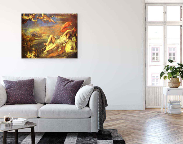 The Rape Of Europe By Titian