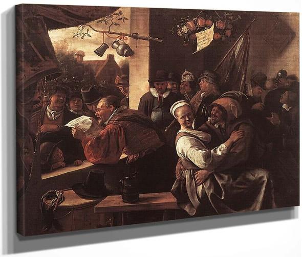 The Rhetoricians By Jan Steen