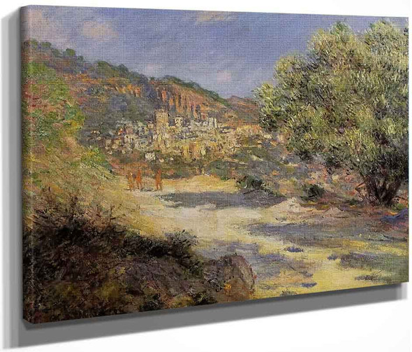 The Road To Monte Carlo By Claude Oscar Monet