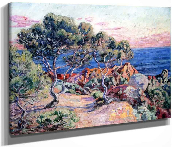 The Rocks At Agay By Armand Guillaumin