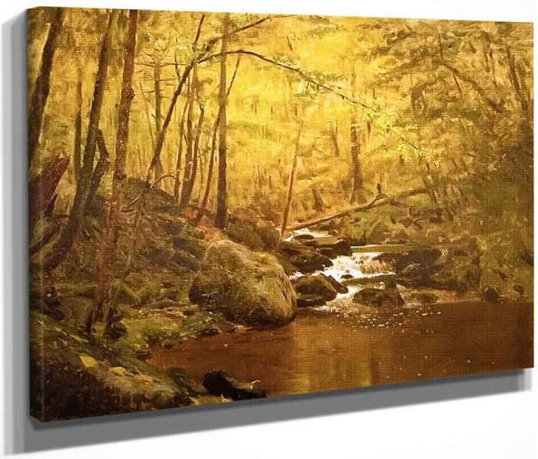 The Running Brook By John George Brown By John George Brown