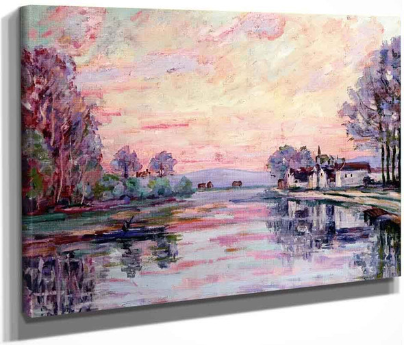 The Seine At Samois By Armand Guillaumin