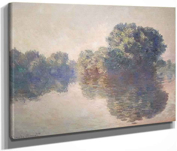 The Seine Near Giverny By Claude Oscar Monet