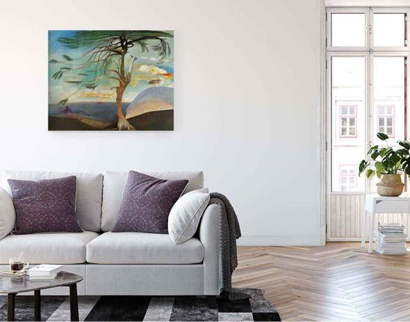 The Solitary Cedar By Tivadar Csontvary Kosztka