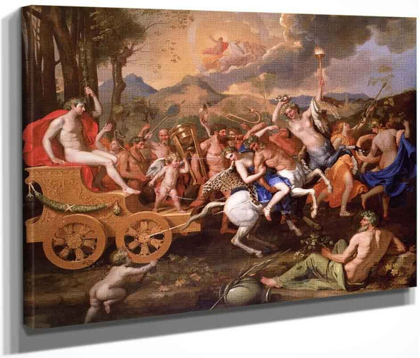The Triumph Of Bacchus By Nicolas Poussin By Nicolas Poussin