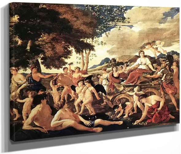 The Triumph Of Flora By Nicolas Poussin By Nicolas Poussin