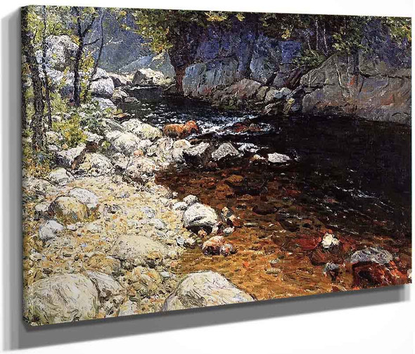 The Trout Brook By John Joseph Enneking