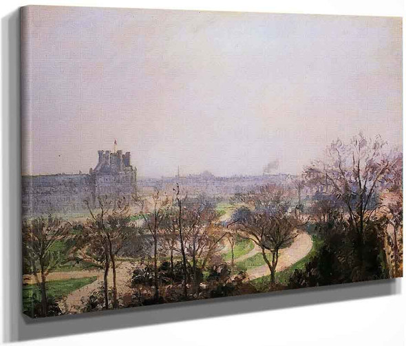 The Tuileries Gardens1 By Camille Pissarro By Camille Pissarro
