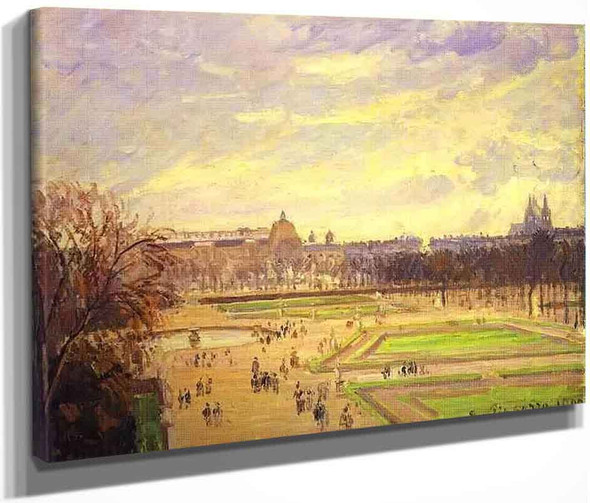 The Tuileries Gardens By Camille Pissarro By Camille Pissarro