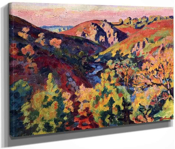 The Valley Of The Creuse By Armand Guillaumin