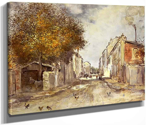 The Village In Spring By Jean Francois Raffaelli By Jean Francois Raffaelli