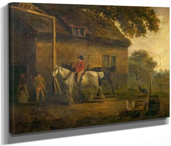 The Village Inn With Post Horses By George Morland