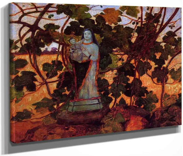 The Virgin With Fig Tree By Ferdinand Du Puigaudeau
