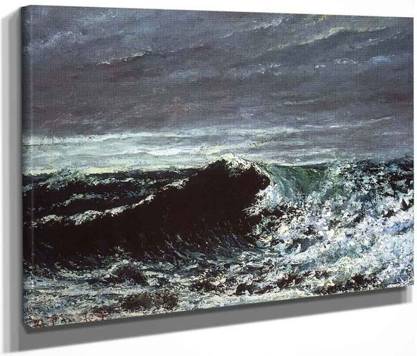 The Wave 2 By Gustave Courbet By Gustave Courbet
