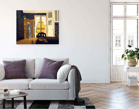 The Window By Edouard Vuillard
