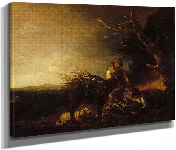 The Woodcutters By Thomas Gainsborough  By Thomas Gainsborough