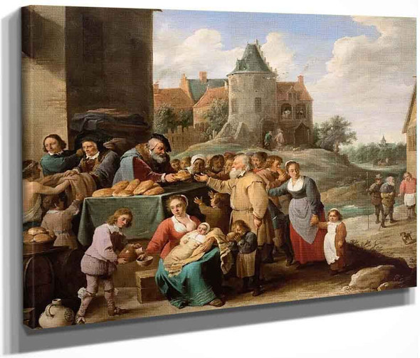 The Works Of Mercy By David Teniers The Younger