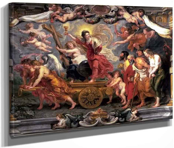 Triumph Of The Eucharist By Peter Paul Rubens By Peter Paul Rubens