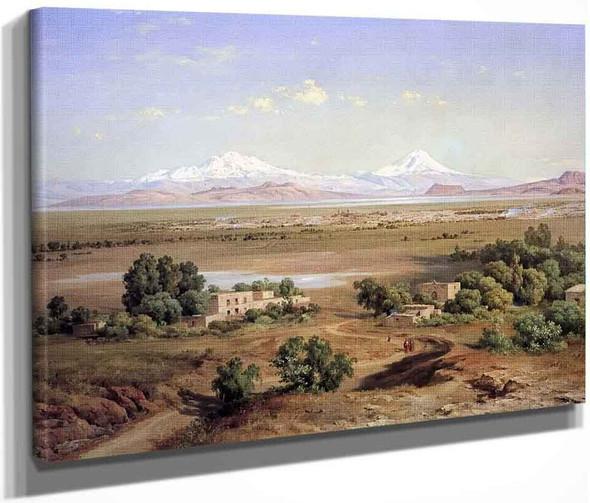 Valle De Mexico Desde El Tapeyac1 By Jose Maria Velasco