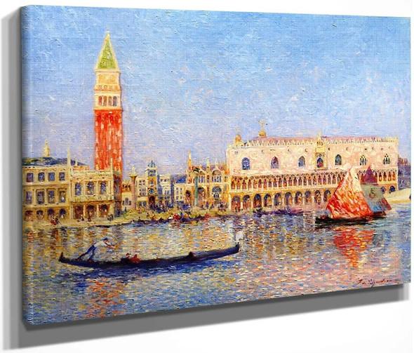 Venice, The Doges Palace By Ferdinand Du Puigaudeau