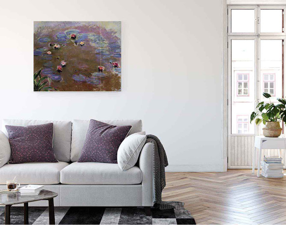 Water Lilies  By Claude Oscar Monet