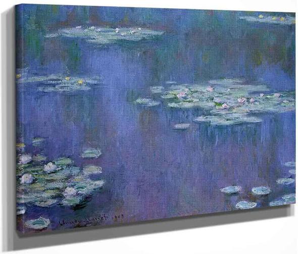 Water Lilies17 By Claude Oscar Monet
