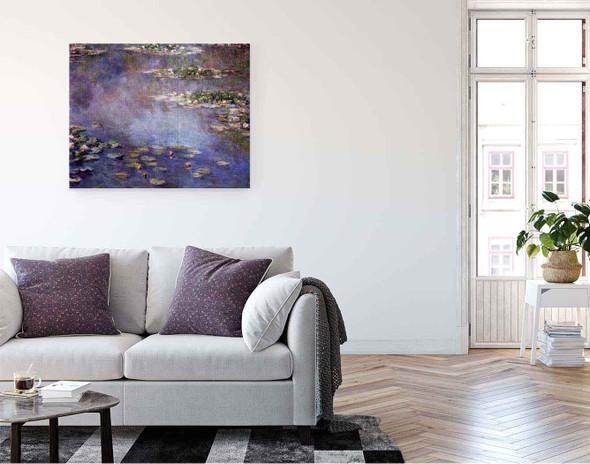Water Lilies40 By Claude Oscar Monet