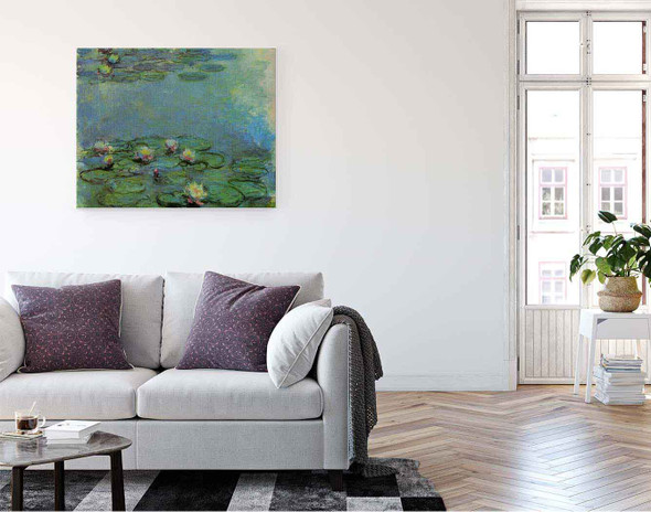 Water Lilies55 By Claude Oscar Monet