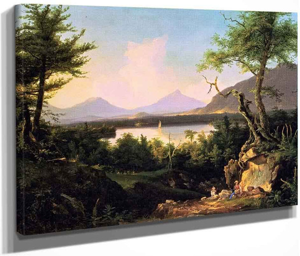 Winnipesaukee By Thomas Cole By Thomas Cole
