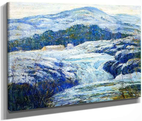 Winter Landcape By Ernest Lawson