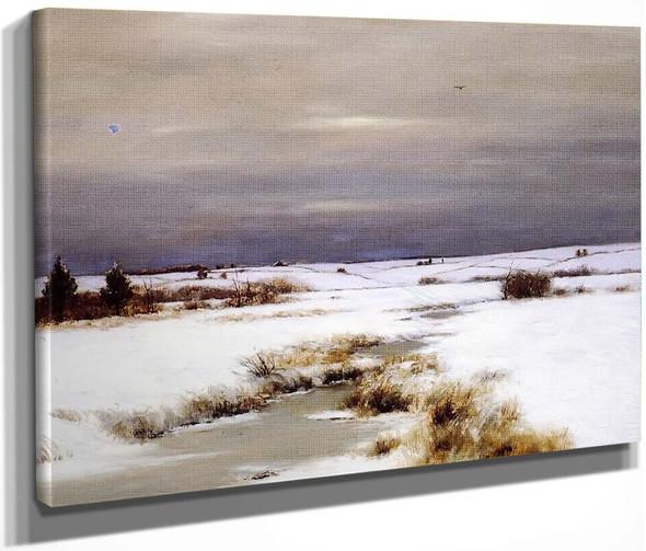 Winter On Long Island By Bruce Crane
