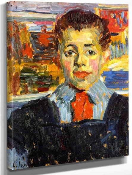 Boy By Alexei Jawlensky By Alexei Jawlensky
