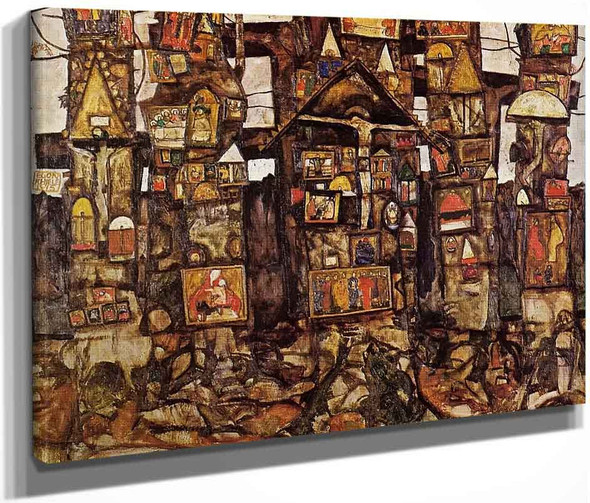 Woodland Prayer By Egon Schiele By Egon Schiele