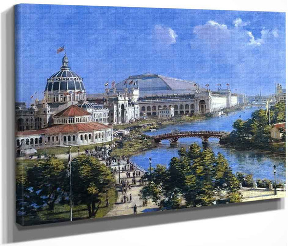World's Columbian Exposition By Theodore Robinson