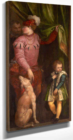 A Boy And A Page By Paolo Veronese