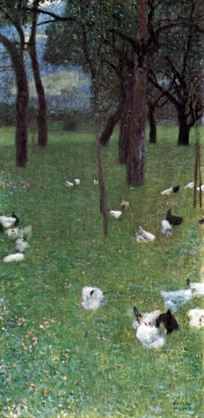 After The Rain By Gustav Klimt