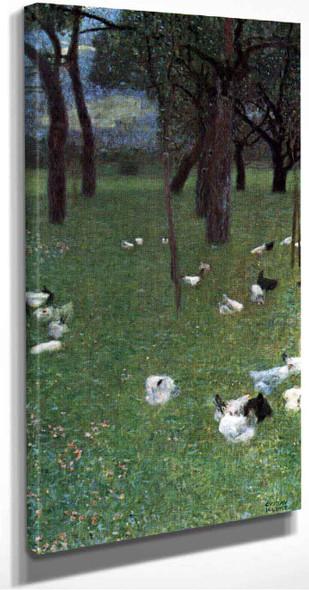 After The Rain By Gustav Klimt