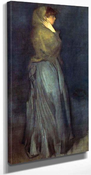 Arrangement In Yellow And Grey Effie Deans By James Abbott Mcneill Whistler American