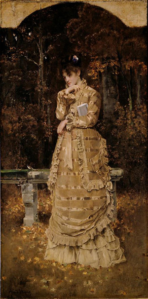 Autumn By Alfred Emile Leopold Stevens