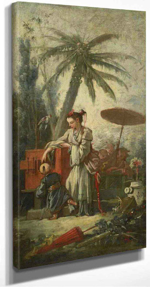 Chinese Curiosity By Francois Boucher