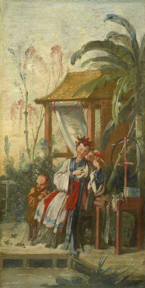 Chinese Leisure By Francois Boucher