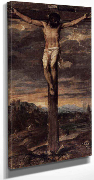 Crucifixion By Titian