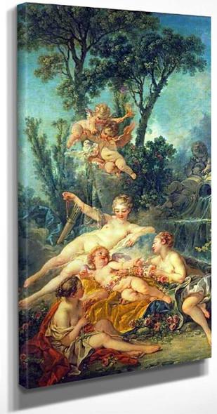 Cupid A Captive By Francois Boucher