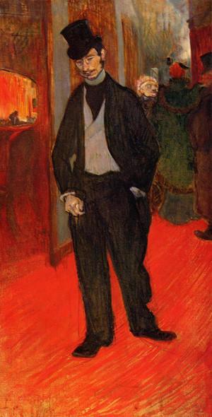 Dr. Gabriel Tapie De Celeyran By Henri De Toulouse Lautrec