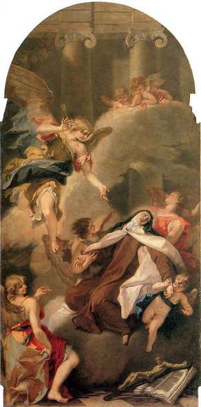 Ecstasy Of St Therese By Sebastiano Ricci