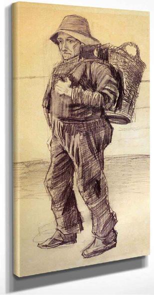 Fisherman By Vincent Van Gogh